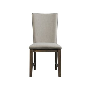 Where buy  Ruthton Upholstered Dining Chair (Set of 2) by Gracie Oaks Reviews (2019) & Buyer's Guide