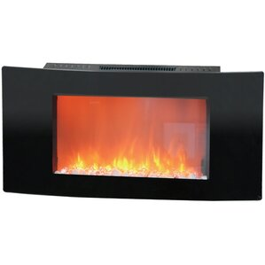 Callisto Wall Mount Electronic Fireplace by ..