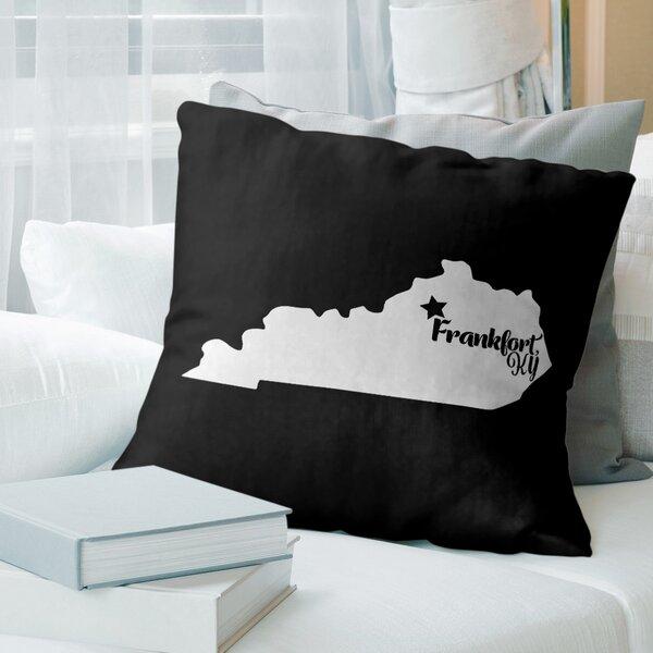 East Urban Home Kentucky Throw Pillow Wayfair