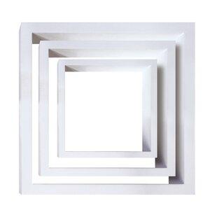Debbra 3 Piece Wall Shelf Set