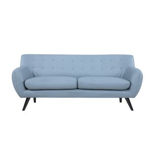 Mid Century Modern Tufted Sofa by Madison Home USA Best #1