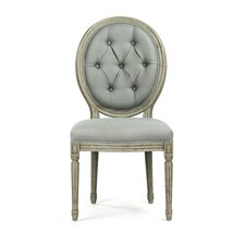Tufted Medallion Side Chair by Zentique Inc.