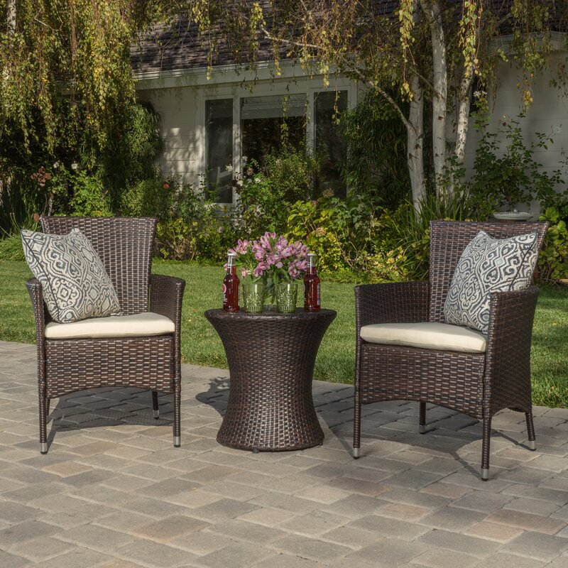 Florence 3 Piece Outdoor Chat Set