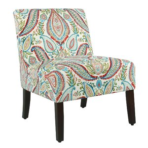 Alleyton Paisley Slipper Chair by Winston Porter