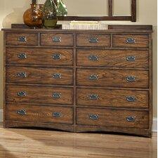 Oakhurst 12 Drawer Standard Dresser by Imagio Home by Intercon