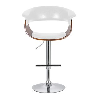 Ian Adjustable 33 Swivel Bar Stool Corrigan Studio