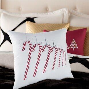 Candy Cane Shaped Pillow Wayfair