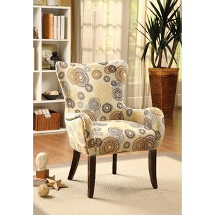 Check Prices Rushmore Fabric Armchair by Ebern Designs