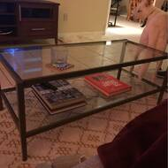 Three Posts Montclair Coffee Table With Storage Reviews Wayfair