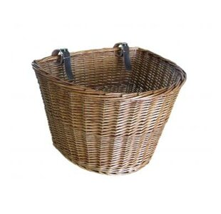Bicycle Willow Basket By Brambly Cottage