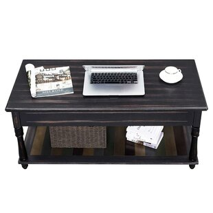 Seelinger Lift Top Coffee Table by World Menagerie