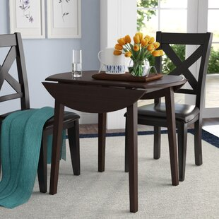 Milton Drop Leaf Dining Table by Andover Mills Amazingt