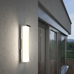 Troas LED Outdoor Sconce By Brayden Studio Outdoor Lighting