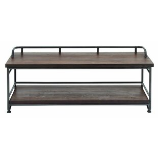 Wood and Metal Storage Bench by Cole & Grey