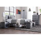 Adame Upholstered Platform Configurable Bedroom Set by Williston Forge