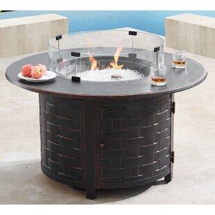 Order Wangi Steel Wood Burning Fire Pit By Latitude Run Amazing Price