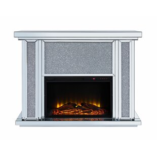 Lathrop Electric Fireplace by Rosdorf Park