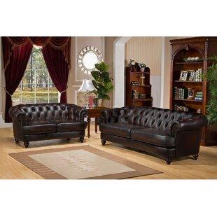 Irina 2 Piece Living Room Set