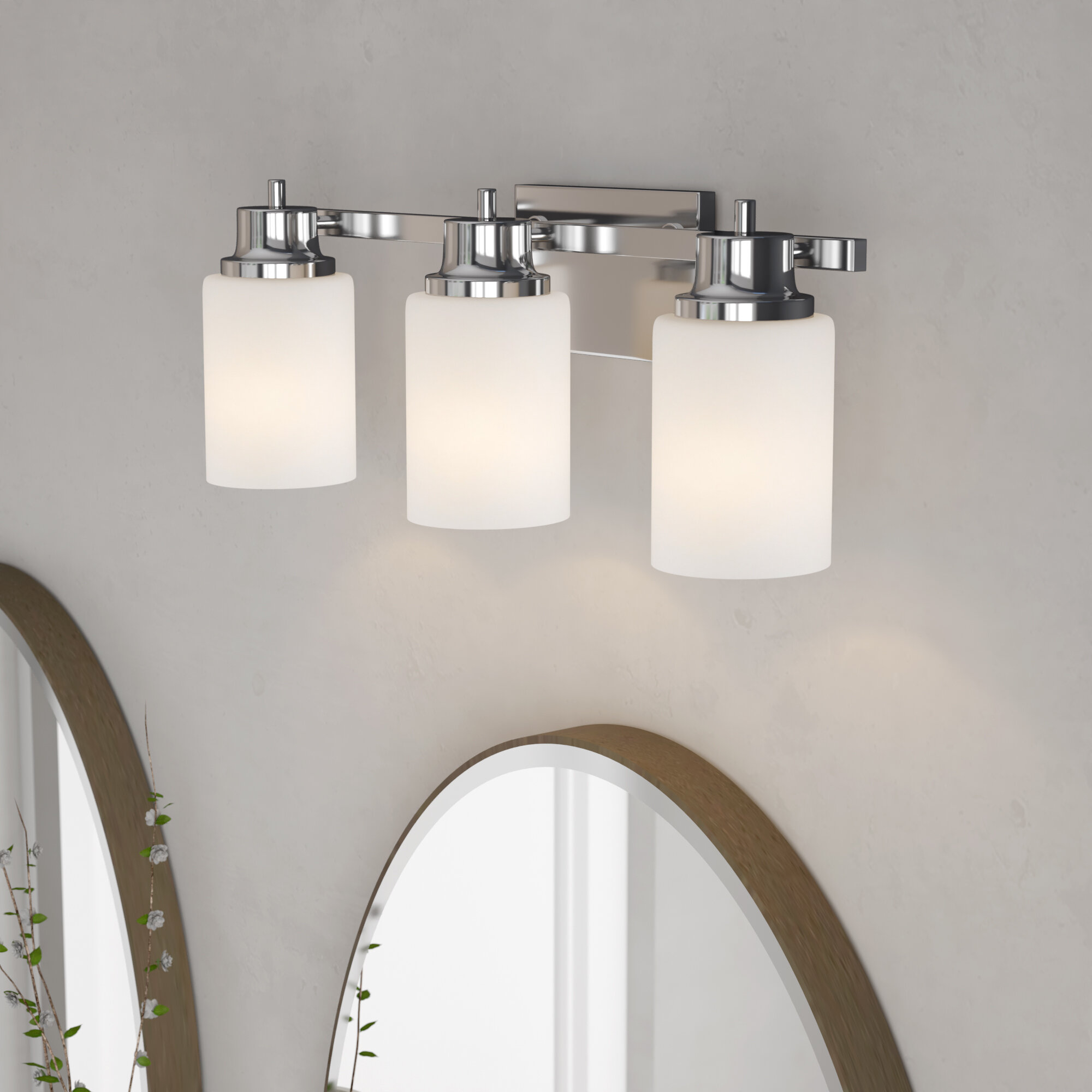 Orren Ellis Ryerson Contemporary 3 Light Vanity Light Reviews Wayfair