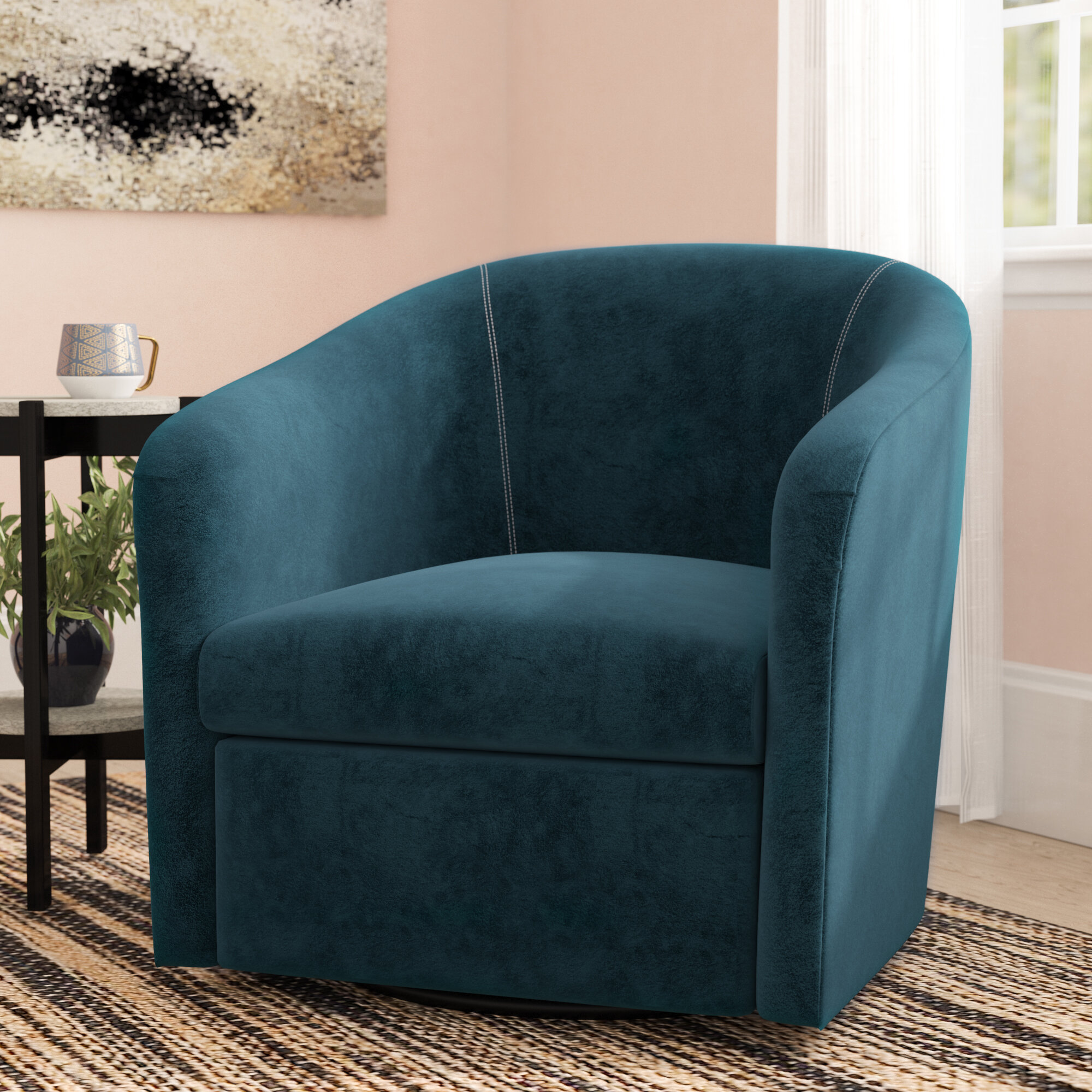 Small Swivel Accent Chairs You Ll Love In 2020 Wayfair