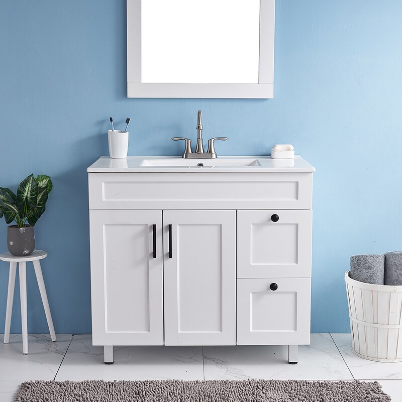 Latitude Run Caylob 36 Single Bathroom Vanity Set Wayfair
