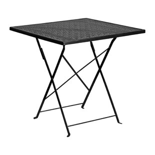 Ianthe Folding Metal Dining Table by Ebern Designs 2019 Online