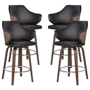 Steffan 26 Swivel Bar Stool (Set of 4) by Brayden Studio