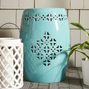 Fine Lorelei Quatrefoil Garden Stool Andrewgaddart Wooden Chair Designs For Living Room Andrewgaddartcom
