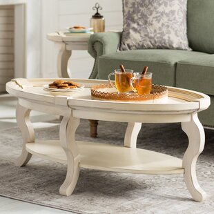 Buy clear Valeriane Coffee Table By Lark Manor