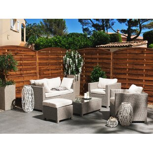 Rhea 5 Seater Rattan Sofa Set By Sol 72 Outdoor