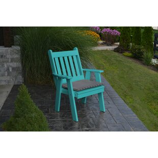 Kaylin Traditional English Patio Chair