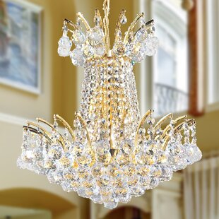 Carson 4-Light Empire Chandelier by House of Hampton