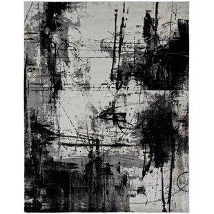Reviews Stourbridge Black/Gray Area Rug ByWilliston Forge