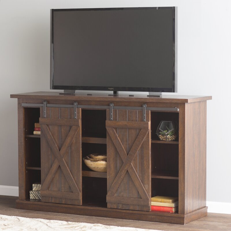 """Three Posts Lorraine TV Stand for TVs up to 60"""" & Reviews ..."""
