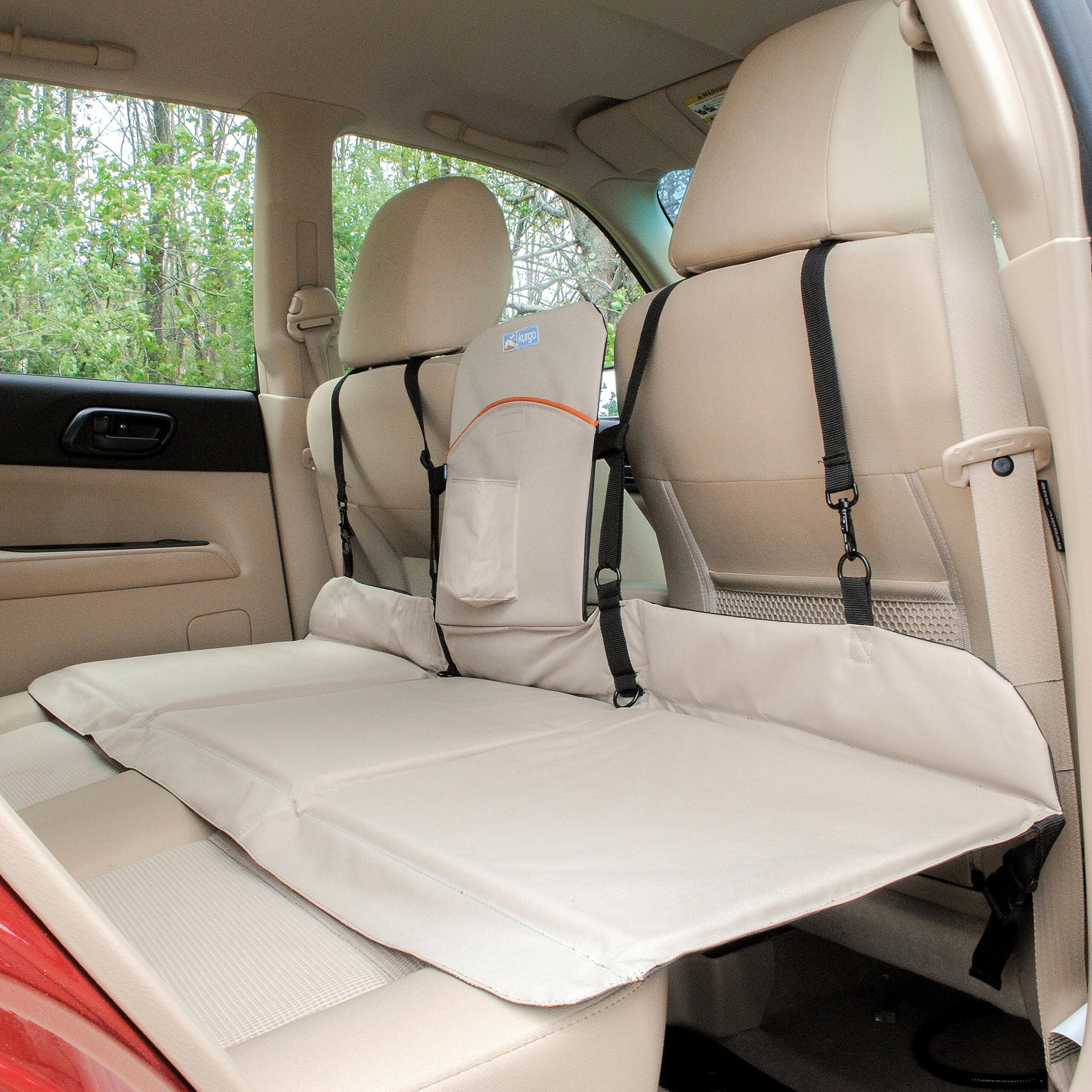 Kurgo Backseat Bridge Polyester Seat Cover Reviews Wayfair