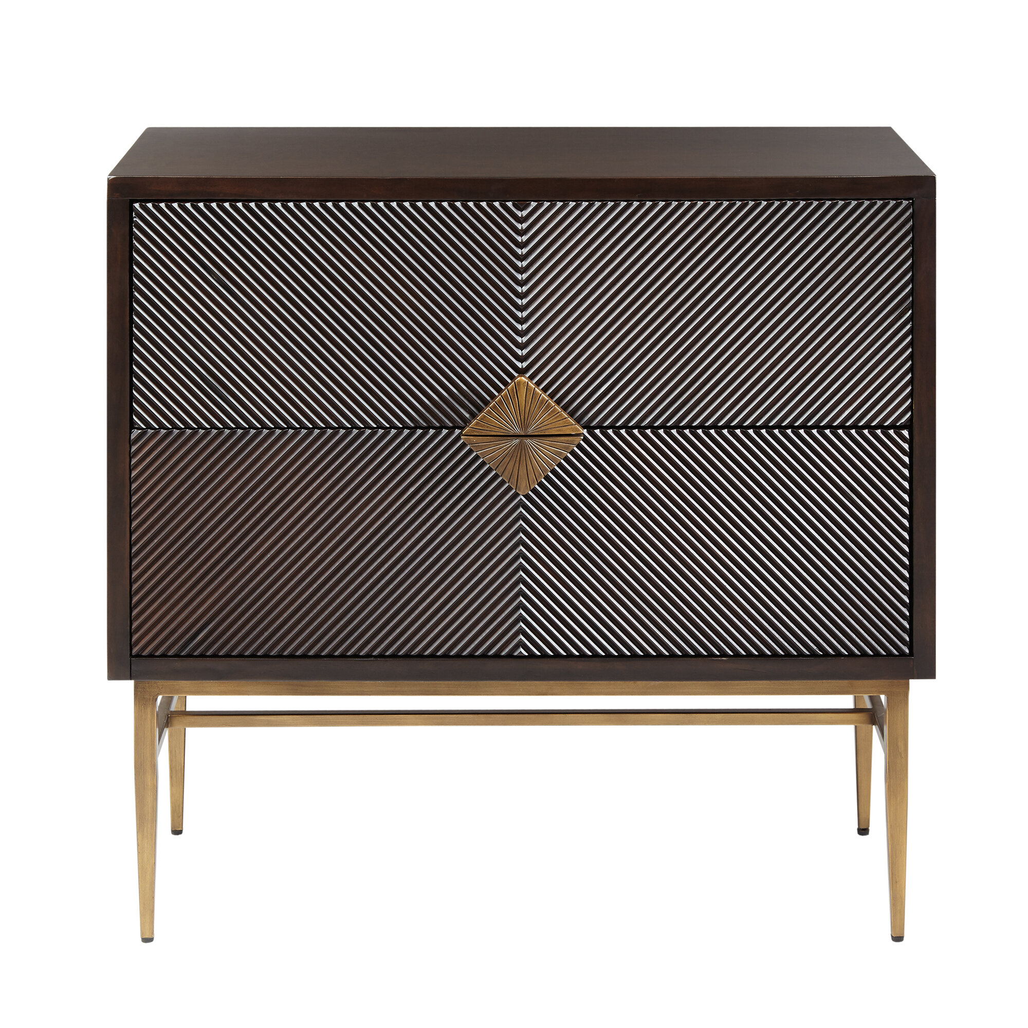 Langley Street Tobias 2 Drawer Accent Chest & Reviews | Wayfair