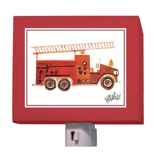 Oopsy Daisy Eric Carle's Fire Engine Night Light