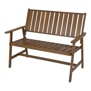 Calgary Wooden Bench By Lesli Living