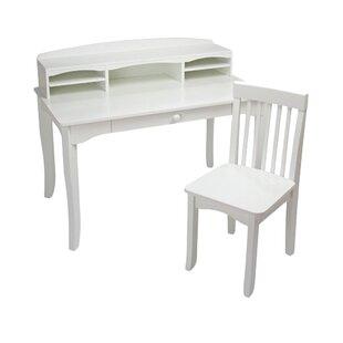 Avalon 42 W 3 Piece Writing Desk Set By KidKraft