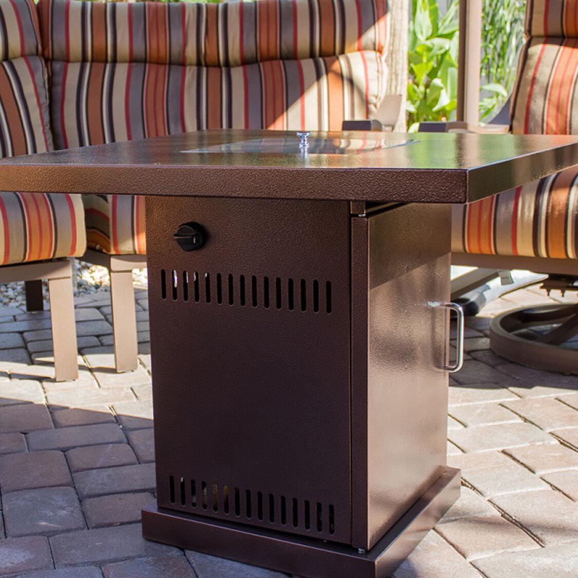 Belleze 40,000 BTU Outdoor Patio Heater Fire Pit Table & Reviews ...