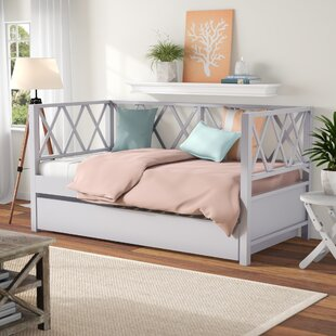 Hayes X Back Twin Daybed by Beachcrest Home