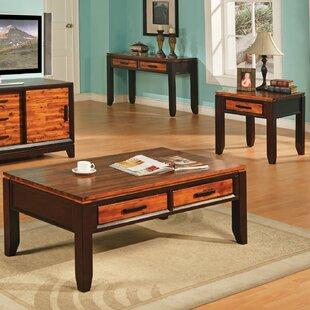 3 Piece Coffee Table Set Mistana
