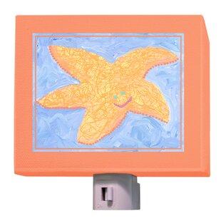 Oopsy Daisy Orange Starfish Night Light