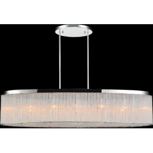 Affordable 7- Light  LED  Chandelier By CWI Lighting