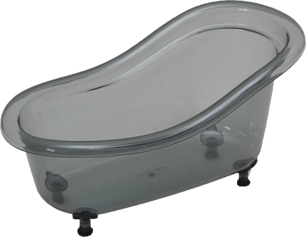Evideco Claw Foot Bathtub Counter Top Container & Reviews | Wayfair