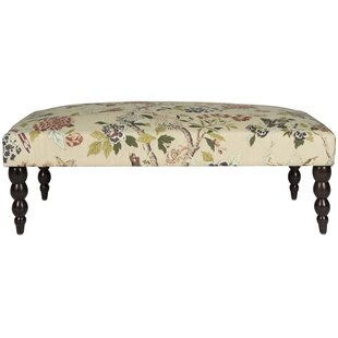 Venice Upholstered Bench by Alcott Hill Coupon