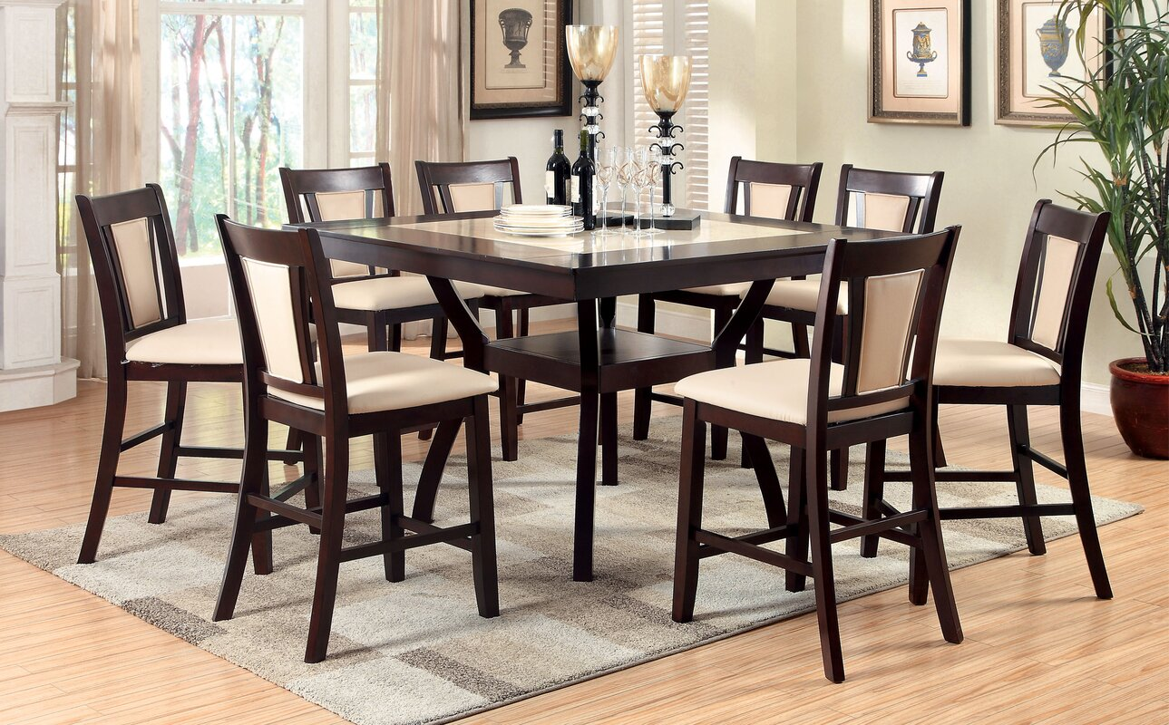 Awesome Pitcairn 9 Piece Counter Height Pub Table Set