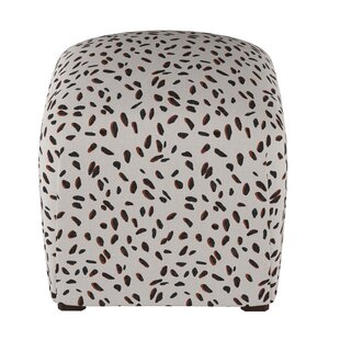 Marksbury Cube Ottoman by Wrought Studio