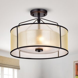 Brisco 3-Light Semi Flush Moun..
