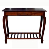 Mequon 38 Solid Wood Console Table by Charlton Home®
